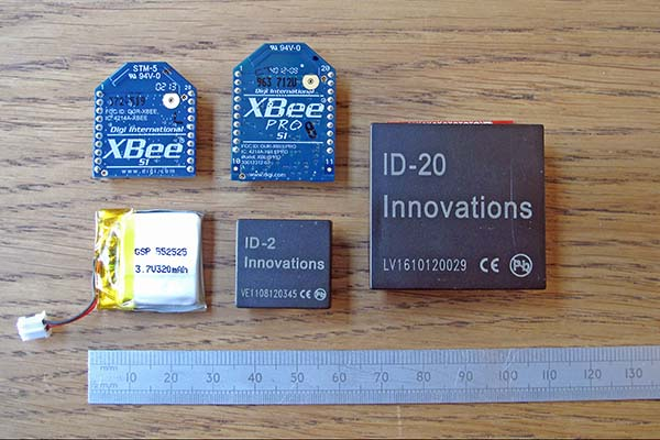 Small wearable electronic parts